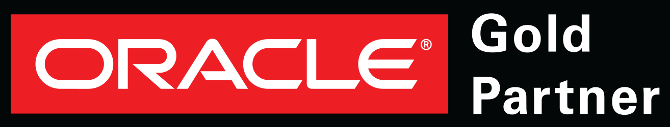 Oracle Logo - Gold Partner